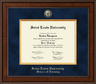 Saint Louis University Diploma Frame - Presidential Masterpiece Diploma Frame in Madison