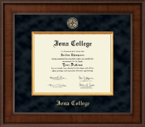 Iona College Diploma Frame - Presidential Masterpiece Diploma Frame in Madison