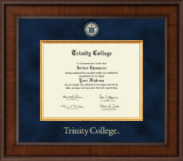 Trinity College Diploma Frame - Presidential Masterpiece Diploma Frame in Madison