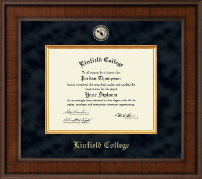Linfield College Diploma Frame - Presidential Masterpiece Diploma Frame in Madison
