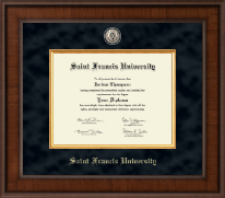 Saint Francis University Diploma Frame - Presidential Masterpiece Diploma Frame in Madison
