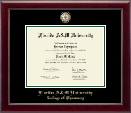 Florida A&M University Diploma Frame - Masterpiece Medallion Diploma Frame in Gallery