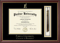 Indiana University - Purdue University Diploma Frame - Tassel Edition Diploma Frame in Newport