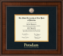State University of New York at Potsdam Diploma Frame - Presidential Masterpiece Diploma Frame in Madison