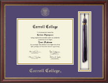 Carroll College at Montana Diploma Frame - Tassel Edition Diploma Frame in Newport