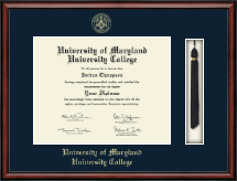 University of Maryland University College Diploma Frame - Tassel Edition Diploma Frame in Southport