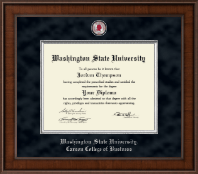 Washington State University Diploma Frame - Presidential Masterpiece Diploma Frame in Madison