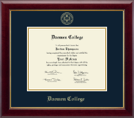 Daemen College Diploma Frame - Gold Embossed Diploma Frame in Gallery