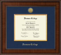 Daemen College Diploma Frame - Presidential Gold Engraved Diploma Frame in Madison