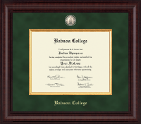 Babson College Diploma Frame - Presidential Masterpiece Diploma Frame in Premier
