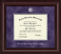 Texas Christian University Diploma Frame - Presidential Masterpiece Diploma Frame in Premier
