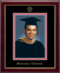 University of Nebraska Photo Frame - Embossed Photo Frame in Galleria