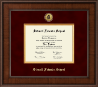 Sidwell Friends School Diploma Frame - Presidential Gold Engraved Diploma Frame in Madison