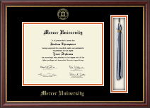 Mercer University Diploma Frame - Tassel Edition Diploma Frame in Newport
