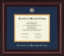 Franklin & Marshall College Diploma Frame - Presidential Masterpiece Diploma Frame in Premier