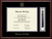 Emerson College Diploma Frame - Tassel Edition Diploma Frame in Southport