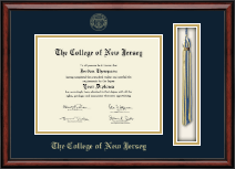 The College of New Jersey Diploma Frame - Tassel Edition Diploma Frame in Southport