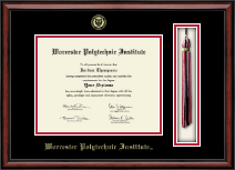 Worcester Polytechnic Institute Diploma Frame - Tassel Edition Diploma Frame in Southport