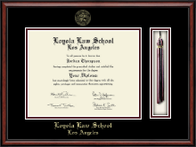 Loyola Law School Los Angeles Diploma Frame - Tassel Edition Diploma Frame in Southport