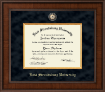 East Stroudsburg University Diploma Frame - Presidential Masterpiece Diploma Frame in Madison