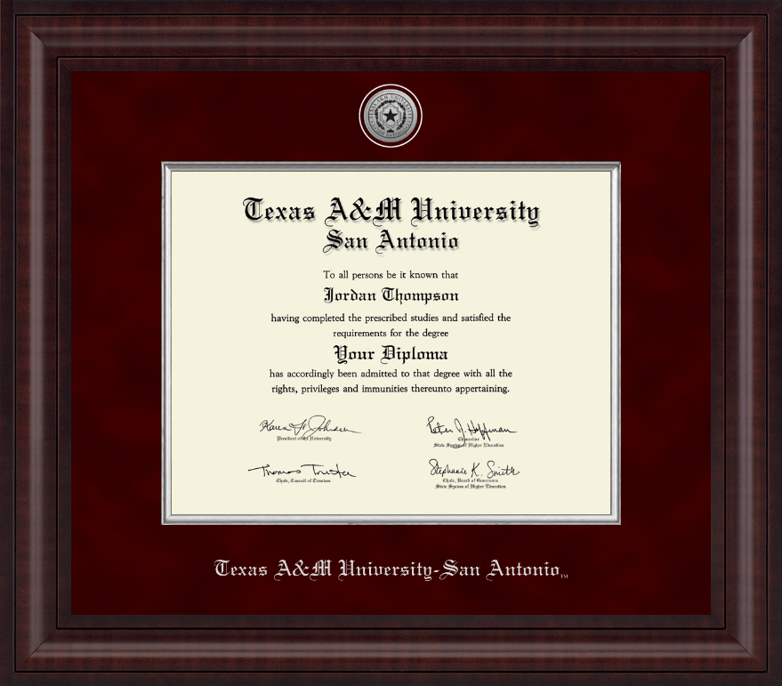 Snap Texas A M University Spirit Graduate Frame with Campus Image ...