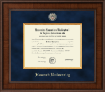 Howard University Diploma Frame - Presidential Masterpiece Diploma Frame in Madison