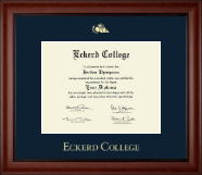 Eckerd College Diploma Frame - Gold Embossed Diploma Frame in Cambridge