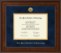 New York Institute of Technology Diploma Frame - Presidential Gold Engraved Diploma Frame in Madison