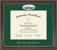 University of North Texas Diploma Frame - Campus Cameo Diploma Frame in Chateau