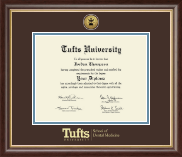 Tufts University - Diploma Frames for School of Dental