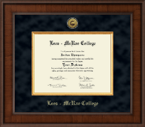Lees-McRae College Diploma Frame - Presidential Gold Engraved Diploma Frame in Madison