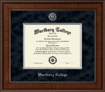 Wartburg College Diploma Frame - Presidential Masterpiece Diploma Frame in Madison