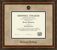 Grinnell College Diploma Frame - Heirloom Edition Diploma Frame in Ashford
