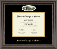 Berklee College of Music Diploma Frame - Campus Cameo Diploma Frame in Chateau