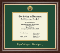 The College at Brockport Diploma Frame - Gold Engraved Medallion Diploma Frame in Hampshire