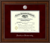 Fordham University Diploma Frame - Presidential Masterpiece Diploma Frame in Madison