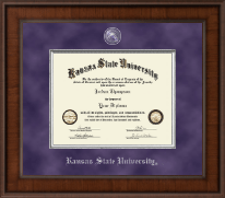 Kansas State University Diploma Frame - Presidential Masterpiece Diploma Frame in Madison