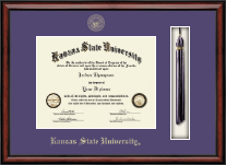 Kansas State University Diploma Frame - Tassel Edition Diploma Frame in Southport