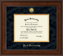 Park University Diploma Frame - Presidential Gold Engraved Diploma Frame in Madison