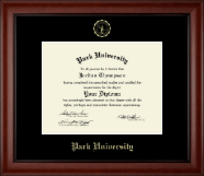 Park University Diploma Frame - Gold Embossed Diploma Frame in Cambridge