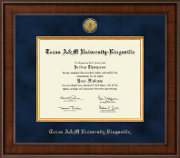 Texas A&M University Kingsville Diploma Frame - Presidential Gold Engraved Diploma Frame in Madison