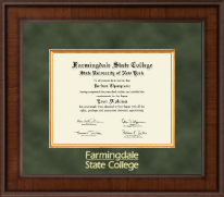 Farmingdale State College Diploma Frame - Presidential Edition Diploma Frame in Madison