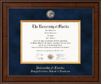 University of Florida Diploma Frame - Presidential Masterpiece Diploma Frame in Madison