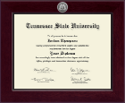 Tennessee State University Diploma Frame - Century Silver Engraved Diploma Frame in Cordova