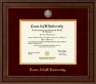 Texas A&M University Diploma Frame - Presidential Masterpiece Diploma Frame in Madison