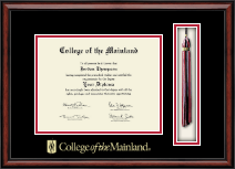 College of the Mainland Diploma Frame - Tassel Edition Diploma Frame in Southport