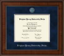Brigham Young University Idaho Diploma Frame - Presidential Masterpiece Diploma Frame in Madison