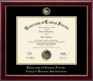 University of Central Florida Diploma Frame - Masterpiece Medallion Diploma Frame in Gallery