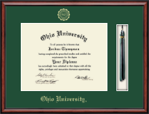 Ohio University Diploma Frame - Tassel Edition Diploma Frame in Southport