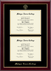 Medgar Evers College Diploma Frame - Double Document Diploma Frame in Gallery